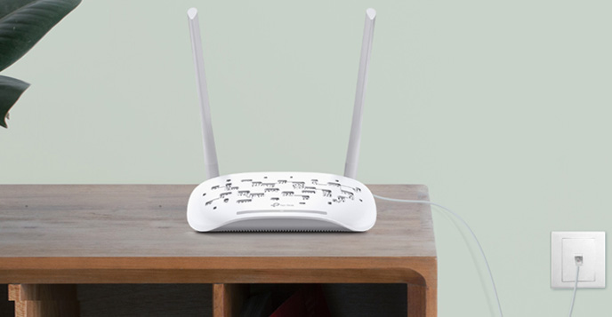 Wi-Fi قویتر در مودم روتر بی سیم تی پی لینک TD-W8961N